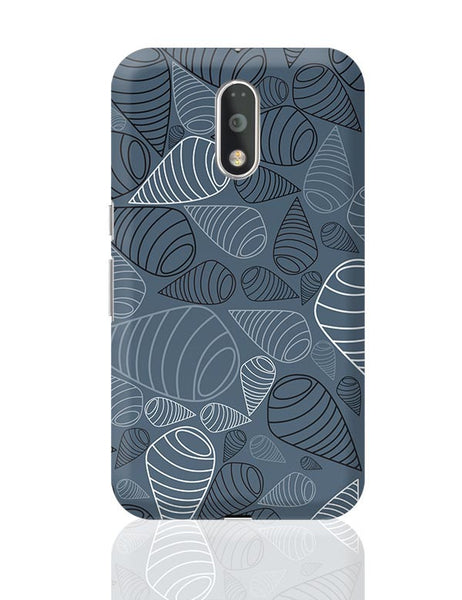 Swirl geometric  on grey Moto G4 Plus Online India