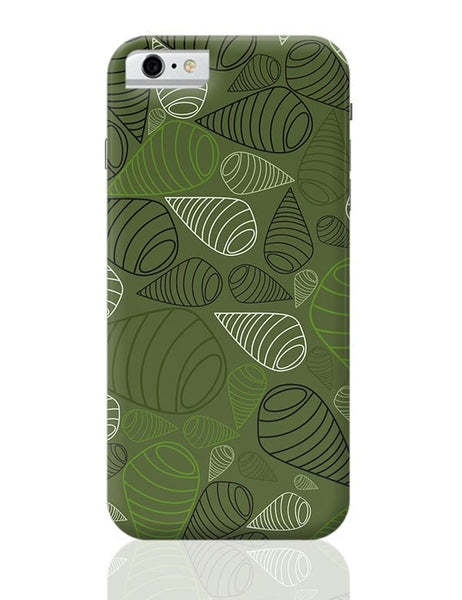 Geometric swirl on green iPhone 6 6S Covers Cases Online India