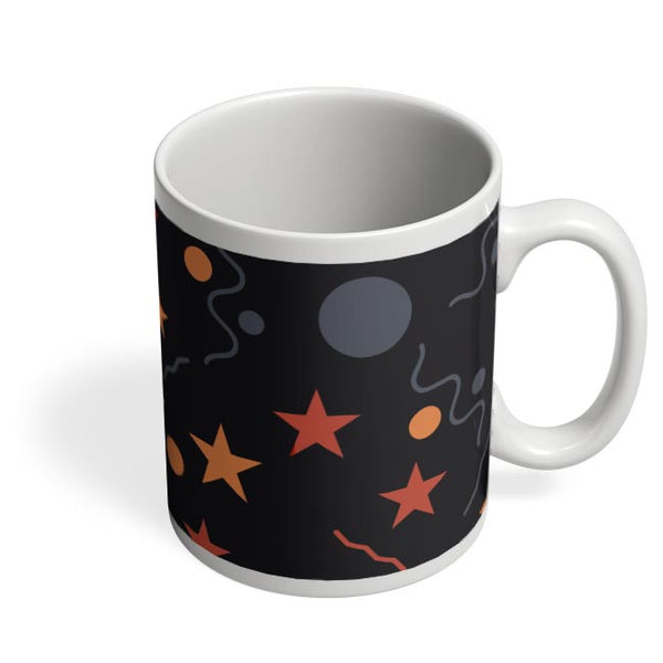 Geometric Multi Shapes Coffee Mug Online India
