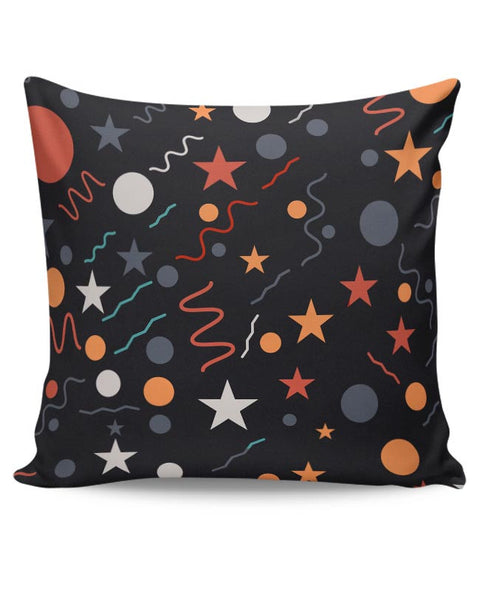 Geometric Multi Shapes Cushion Cover Online India