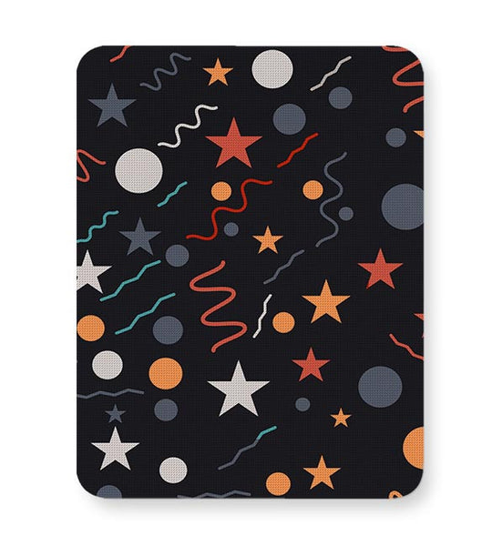 Geometric Multi Shapes Mousepad Online India