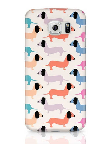 Cute dogs pattern Samsung Galaxy S6 Covers Cases Online India