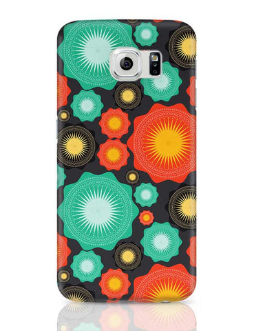 Multicolor Geometric Mandala Seamless Samsung Galaxy S6 Covers Cases Online India