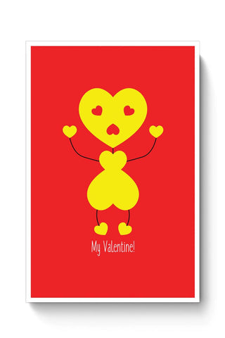 Bee My Valentine Poster Online India