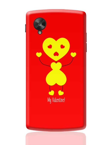 Bee My Valentine Google Nexus 5 Covers Cases Online India