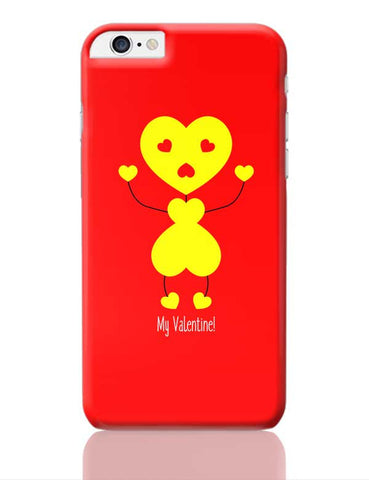 Bee My Valentine iPhone 6 Plus / 6S Plus Covers Cases Online India