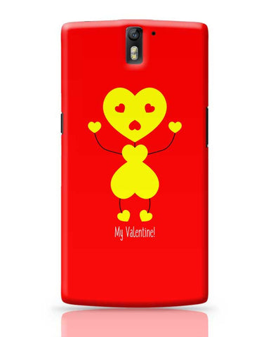 Bee My Valentine OnePlus One Covers Cases Online India