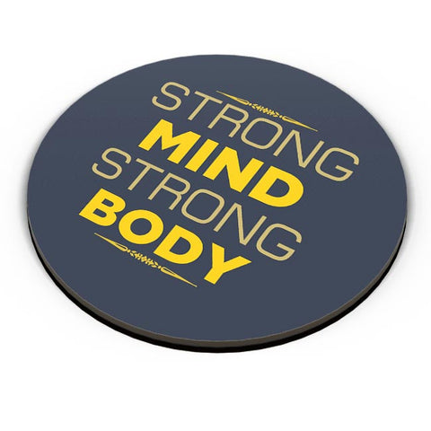 Strong Mind Strong Body Fridge Magnet Online India
