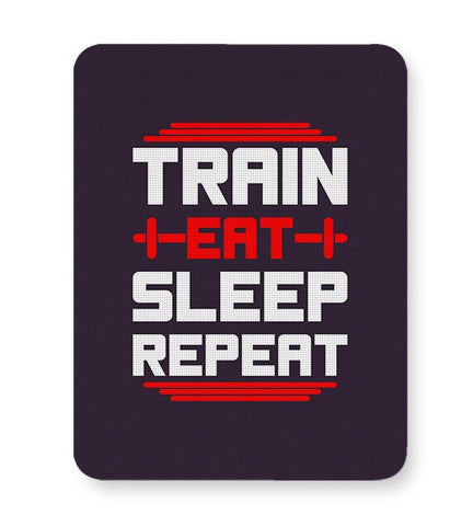 Train Eat Sleep Repeat Mousepad Online India