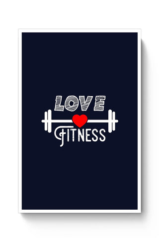 Love Fitness Poster Online India