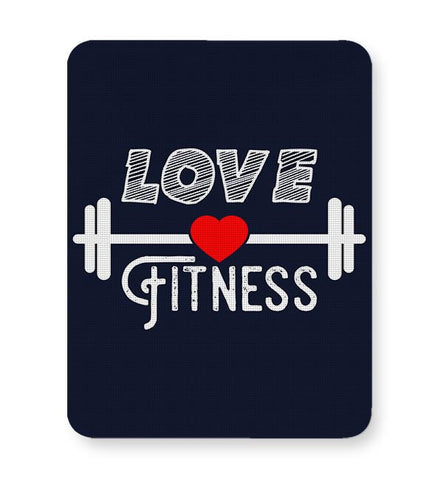 Love Fitness Mousepad Online India
