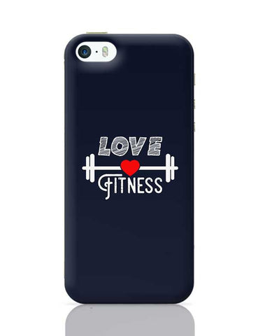 Love Fitness iPhone 5/5S Covers Cases Online India