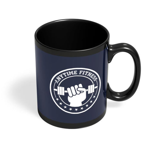 Anytime Fitness Black Coffee Mug Online India