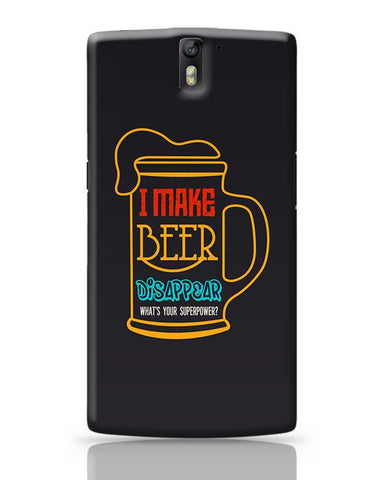 I Make Beer OnePlus One Covers Cases Online India
