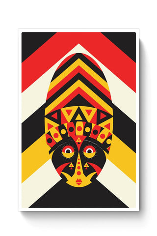 Aboriginal mask Poster Online India
