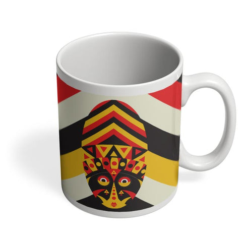 Aboriginal mask Coffee Mug Online India
