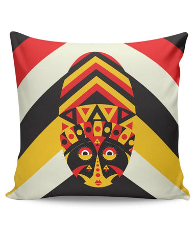 Aboriginal mask Cushion Cover Online India