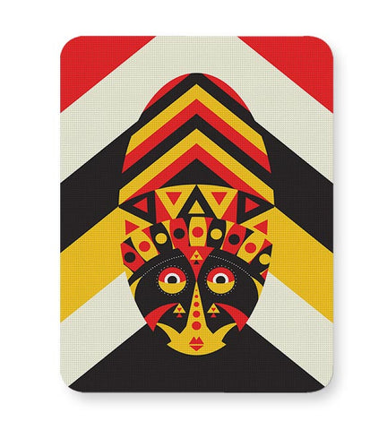 Aboriginal mask Mousepad Online India