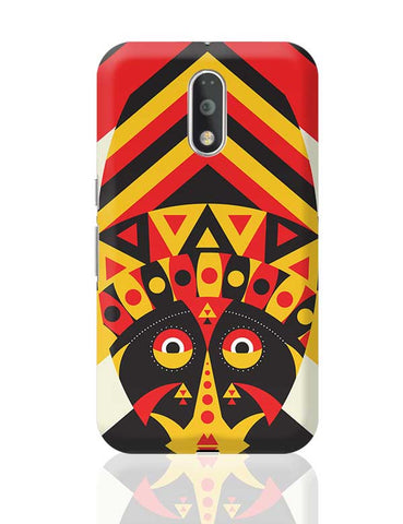 Aboriginal mask Moto G4 Plus Online India