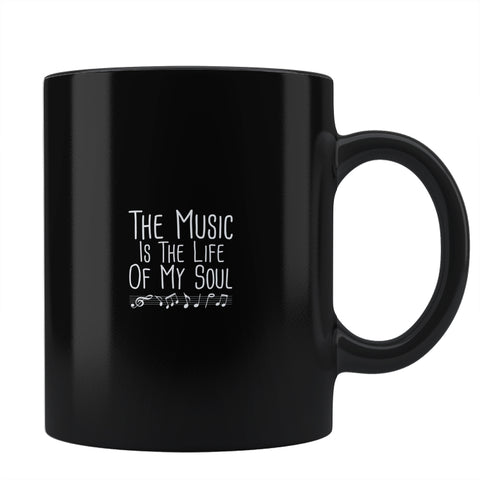 the music is the life of my soul Coffee Mug Online India