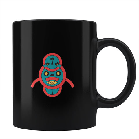 scary african mask Coffee Mug Online India