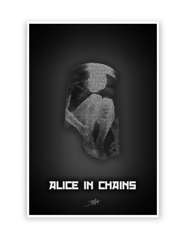 Buy Music Posters Online | Alice in Chains Poster | PosterGuy.in