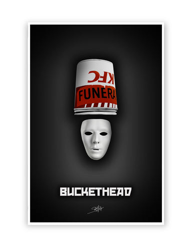 Buy Music Posters Online | Buckethead Brian Patrick Carroll Poster | PosterGuy.in