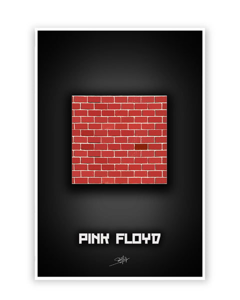Buy Music Posters Online | Pink Floyd Another Brick in the Wall Poster | PosterGuy.in