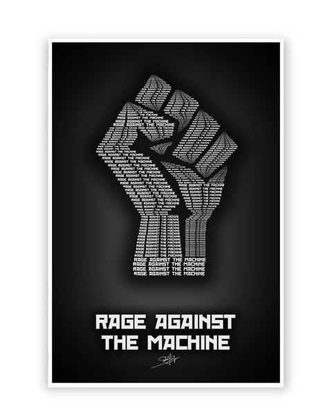 Rage Against Quotes: Music Posters Online India