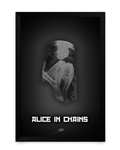 Framed Poster | Alice in Chains Matte Laminated Framed Poster PosterGuy.in