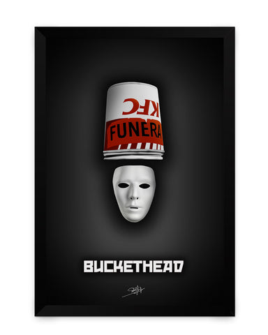Framed Poster | Buckethead Brian Patrick Carroll Matte Laminated Framed Poster PosterGuy.in
