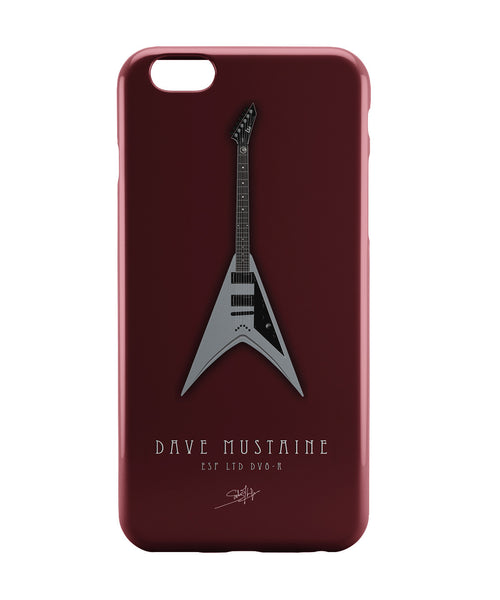 iPhone 6 Case & iPhone 6S Case | Dave Mustaine  iPhone 6 | iPhone 6S Case Online India | PosterGuy