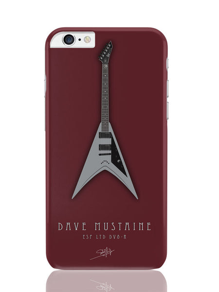 iPhone 6 Plus / 6S Plus Covers & Cases | Dave Mustaine Guitar iPhone 6 Plus / 6S Plus Covers and Cases Online India