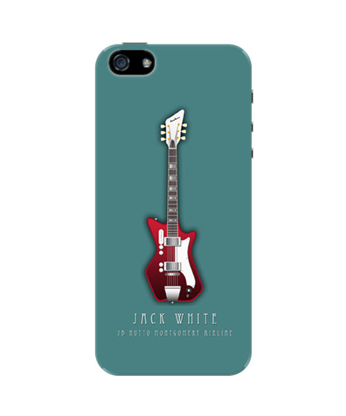 Jack White Guitar iPhone 5/5S Case
