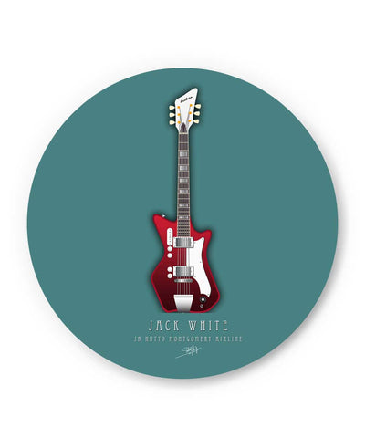 Jack White Guitar Fridge Magnet Online India
