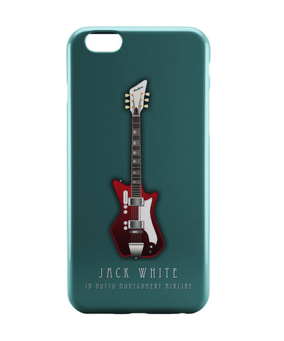 iPhone 6 Case & iPhone 6S Case | Jack White Guitar iPhone 6 | iPhone 6S Case Online India | PosterGuy