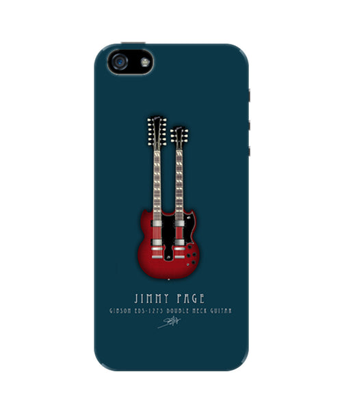 Jimmy Page Guitar iPhone 5/5S Case