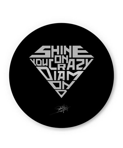 Shine On You Crazy Diamond Pink Floyd Fridge Magnet Online India