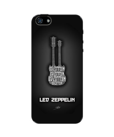 Led Zeppelin Guitar iPhone 5/5S Case
