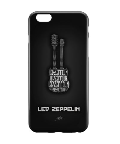 iPhone 6 Case & iPhone 6S Case | Led Zeppelin Guitar iPhone 6 | iPhone 6S Case Online India | PosterGuy