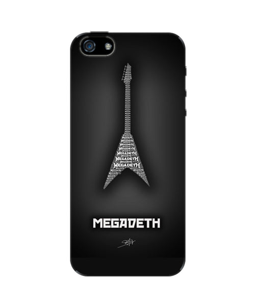 Megadeth Guitar iPhone 5/5S Case