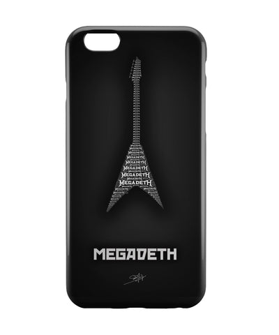 iPhone 6 Case & iPhone 6S Case | Megadeth Guitar iPhone 6 | iPhone 6S Case Online India | PosterGuy