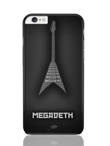 iPhone 6 Plus / 6S Plus Covers & Cases | Megadeth Guitar iPhone 6 Plus / 6S Plus Covers and Cases Online India