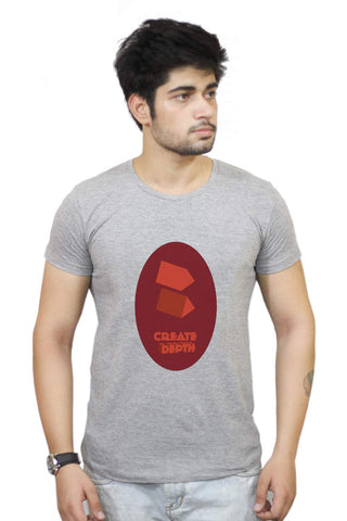 Buy Funny T-Shirts Online India | Create Depth T-Shirt Funky, Cool, T-Shirts | PosterGuy.in
