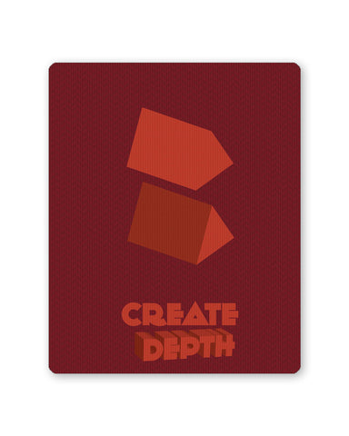 Mouse Pads | Create Depth Mouse Pad Online India | PosterGuy.in