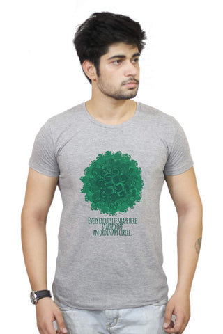 Buy Funny T-Shirts Online India | Cool Curls Using Circles T-Shirt Funky, Cool, T-Shirts | PosterGuy.in
