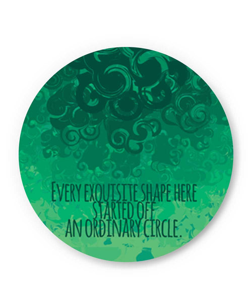 Cool Curls Using Circles Fridge Magnet Online India
