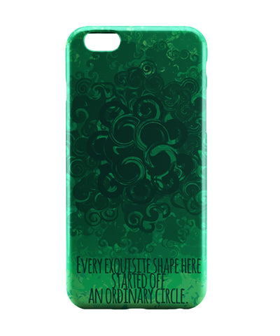 iPhone 6 Case & iPhone 6S Case | Cool Curls Using Circles iPhone 6 | iPhone 6S Case Online India | PosterGuy