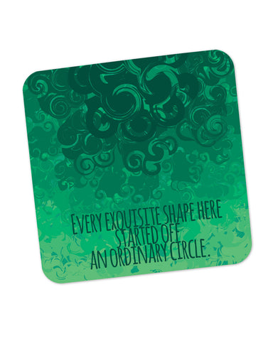 Cool Curls Using Circles Coaster Online India