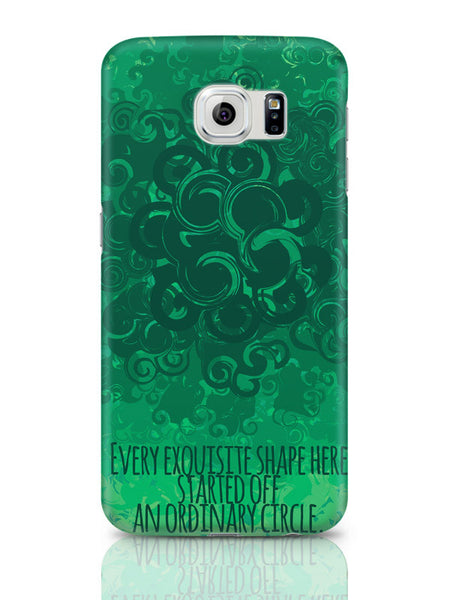 Samsung Galaxy S6 Covers & Cases | Cool Curls Using Circles Samsung Galaxy S6 Covers & Cases Online India